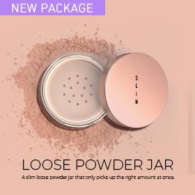 Loose powder jar