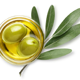 Vegetable oil extracted from olive fruit