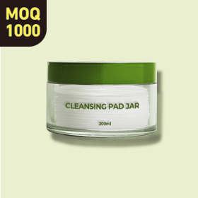 Single Wall Jar for closing cream or pads.