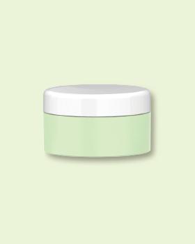 PCR PP Single Wall Cream Jar.