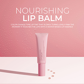 A longlasting nourishing lip balm without stickiness gliding sorftly on the lips and smoothing the chapped lips upon applied.