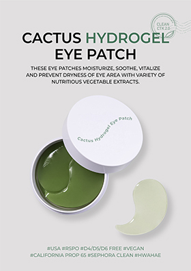 These eye patches moisturize, soothe, vitalize and prevent dryness of eye area with variety of nutritious vegetable extracts.