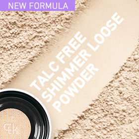 A radiance loose powder for brightening and covering the flaw.