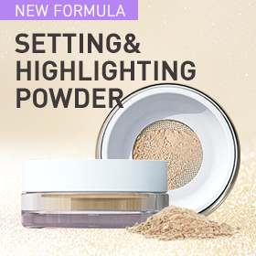 Loose setting powder with hyaluronic acid to maintain the optimal moisture level of skin. Instantly blurs and minimizes the appearance of porees and fine lines, absorbs oil, and controls shine.