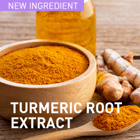 An extract fermented with turmeric roots with anti-inflammatory and moisturizing effects